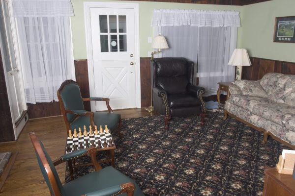 Historical Reno in Princeton, NJ. Hardwood floors and crown moldings.