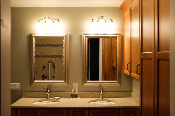 Custom Cabinets ADA Bathroom